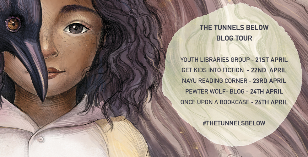 The Tunnels Below by Nadine Wild-Palmer blog tour banner