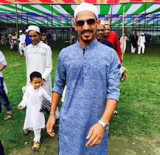 nasir hossain on eid