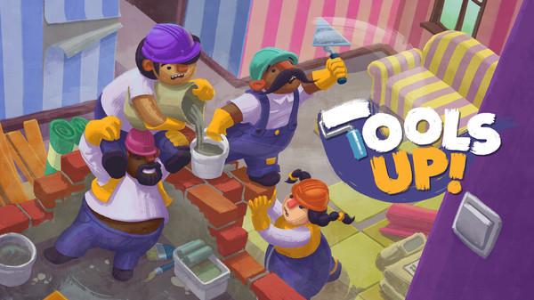 Tools Up!, multiplayer de reformar apartamentos, chegará ao Switch em 3 de dezembro