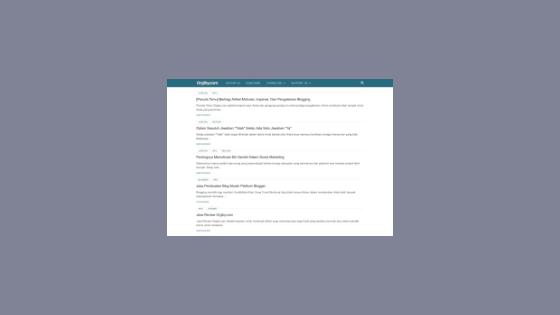 Cara Menyembunyikan Sidebar VioMagz Di Homepage Dan Halaman Statis