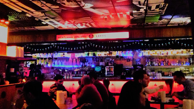 Inside Meat Liquor, Leeds -How to spend a weekend in Leeds, things to do in Leeds