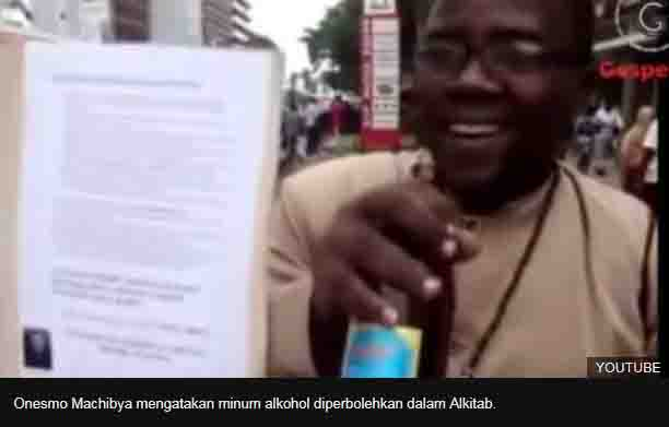 Ditangkap, Pendeta yang mengaku nabi, menghalalkan alkohol dan seks positif gangguan jiwa