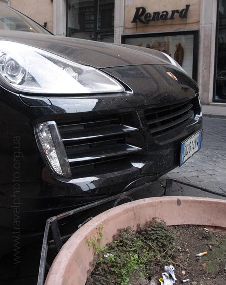 фото из Рима, парковка
