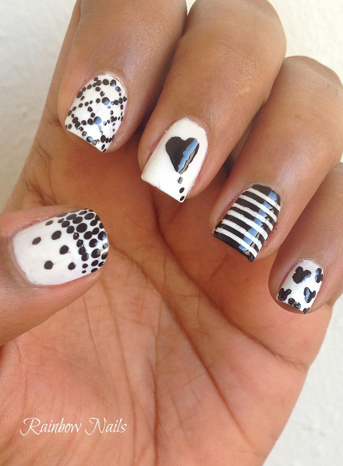 free nail art designs beginners