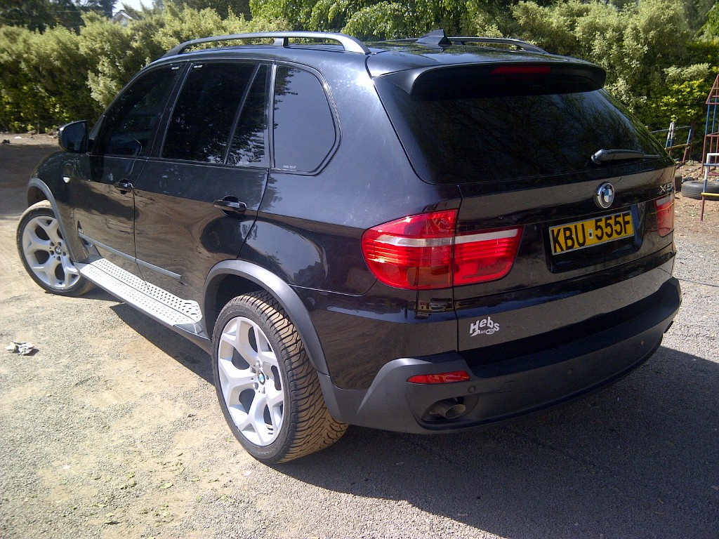 nairobimail bmw x5 2007 dec model 3 l diesel black n shape. Black Bedroom Furniture Sets. Home Design Ideas