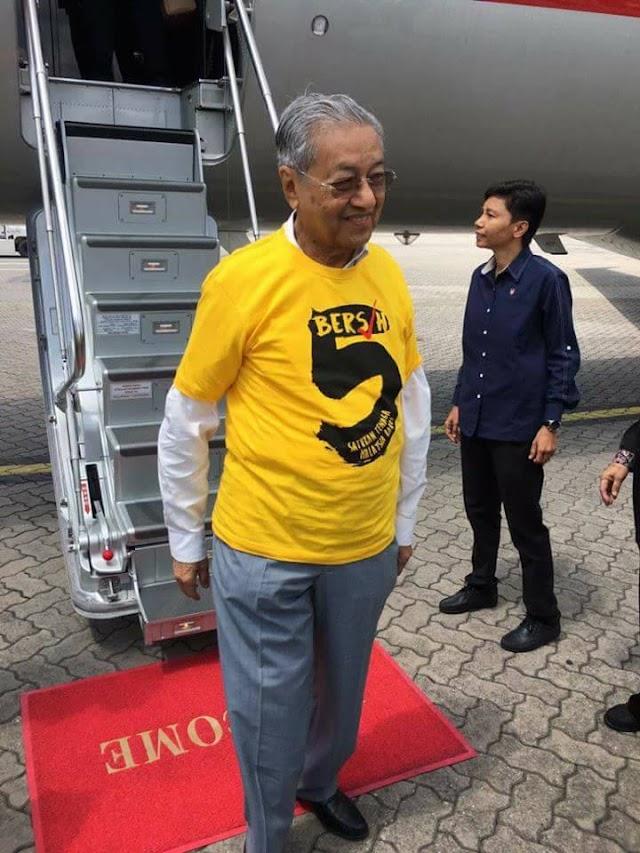 Sang Bangsat Hanya Tunggu Mahathir Datang Sahaja #BERSIH5