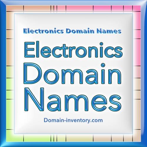 Electronics Domains