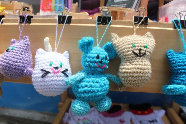 Llavero Amigurumis Fulares portabebés y tejidos a crochet kangutingo