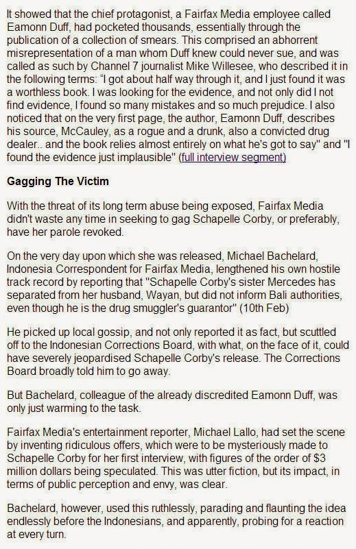 THE EXPENDABLE PROJECT: MNA: Fairfax Media & The Gagging Of ...