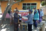 Semeton Post Kota NTB Salurkan Bantuan Ke Pengungsi Alas Barat Dan Alas