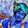 Why Krishna is Blue?