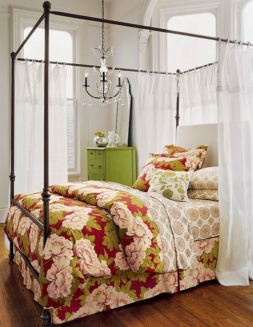 Romantic Interior Design: Blinds & Curtains Design : Romantic Interior Design For