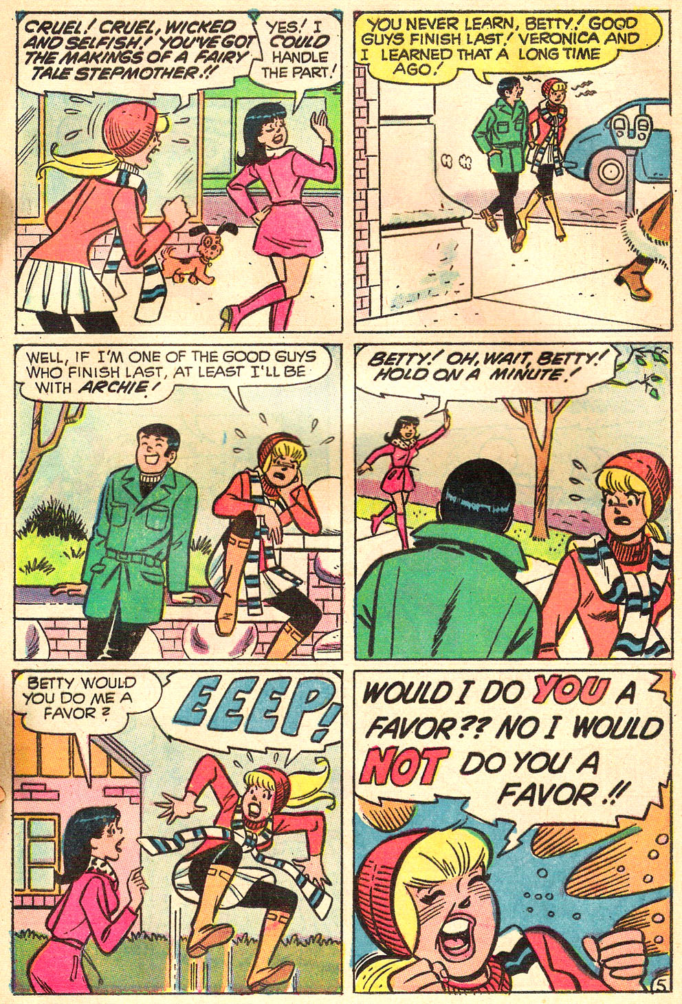 Read online Archie's Girls Betty and Veronica comic -  Issue #172 - 17