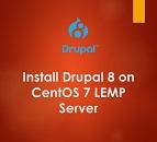 Install Drupal 8 on CentOS 7 LEMP Server