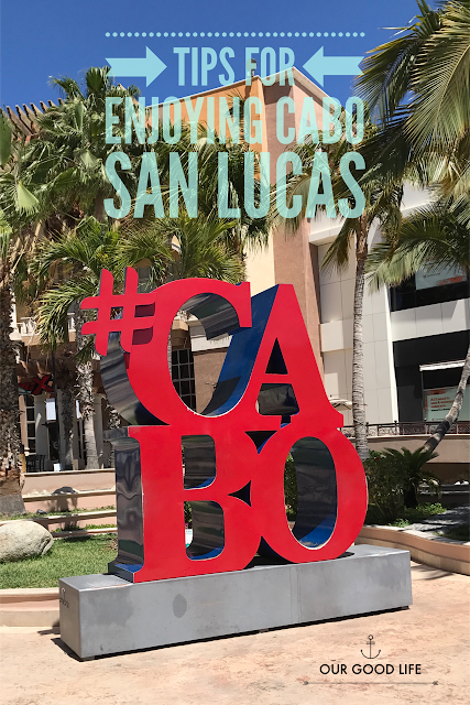 Cabo San Lucas Sign