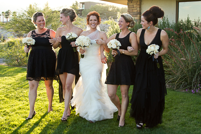 Real Bridesmaids In Our Stunning And Elegant Bridesmaid: Real Wedding: Stunning Meets Sophistication