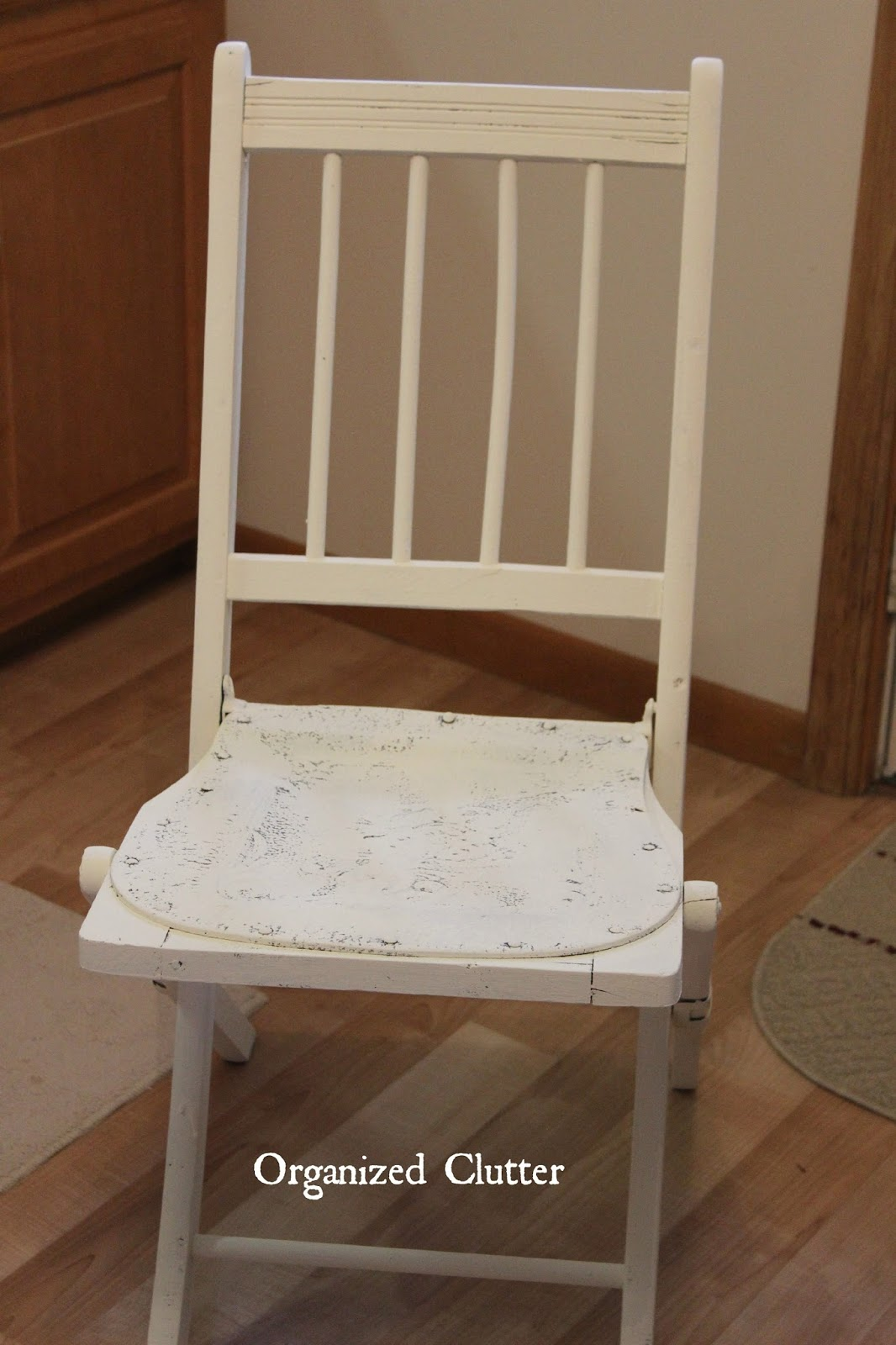 folding chair upcycle painting vinyl chairs a vintage with old sign stencils
