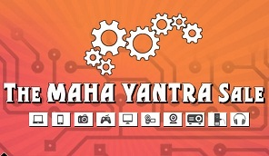 REDIFF Shopping Maha Yantra Sale on Electronics , Mobiles & Gadgets etc (Valid till 29th Feb'16)
