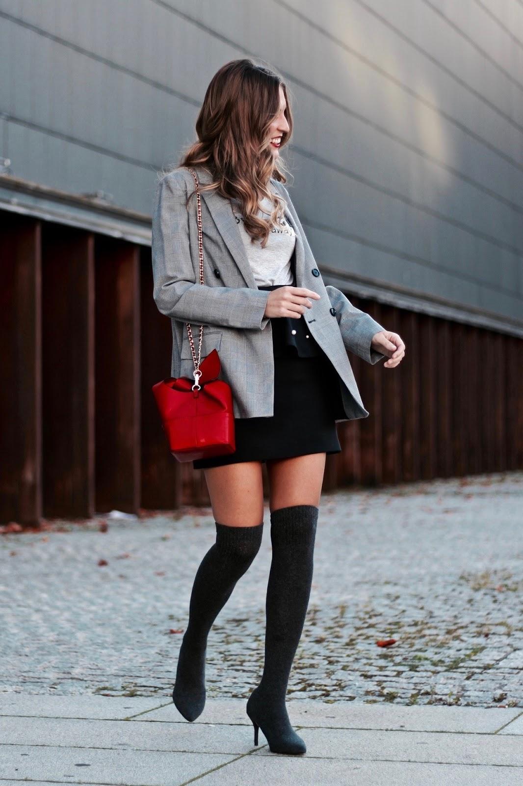 botas calcetín grises zara
