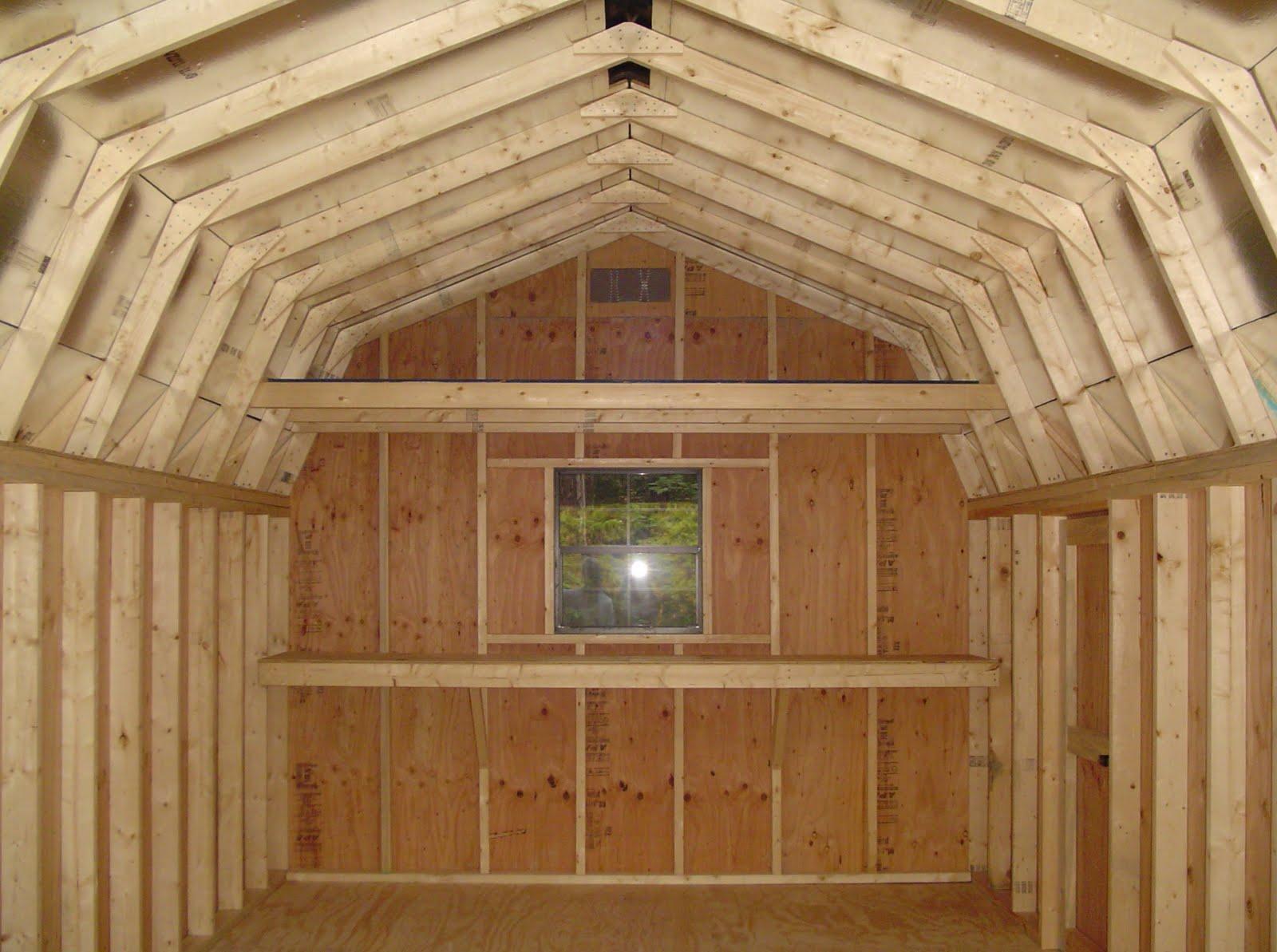 Storage Building Plans With Loft Pdf Woodworking