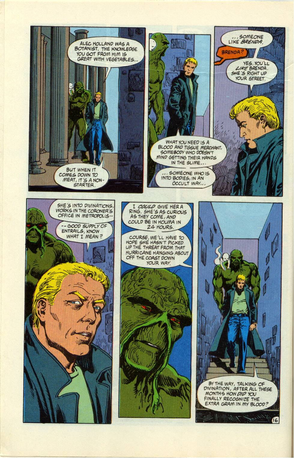 Swamp Thing (1982) Issue #99 #107 - English 17