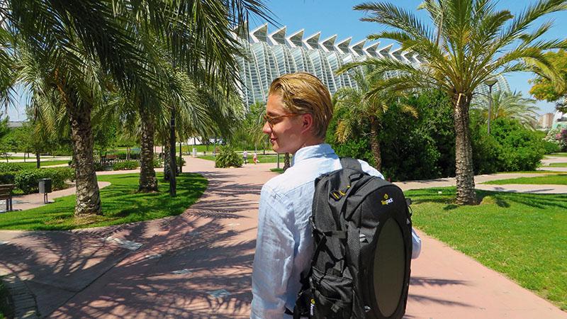 Рюкзак с солнечной батареей | Tespack
