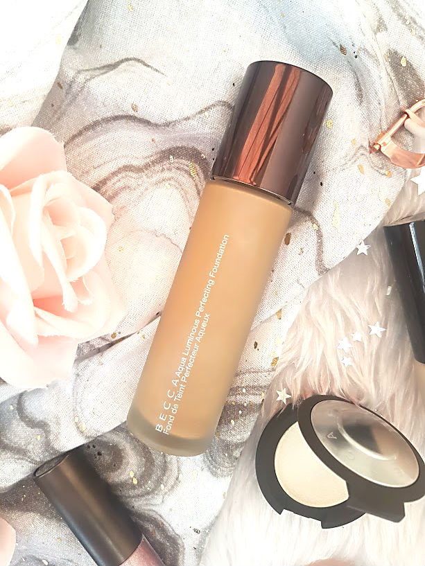 becca aqua luminous foundation oily skin