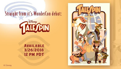 "TaleSpin ""Spin It"" Screen Print by Glen Brogan x Cyclops Print Works"