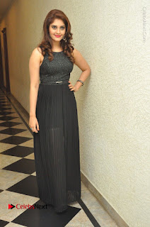 Actress Surabhi Stills in Black Long Dress at turodu Audio Launch  0138.JPG