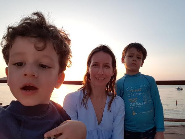Les Portraits de Mamans : Anne-Vé, Mister M et Little G !