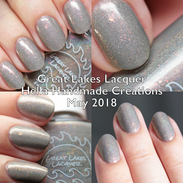 Great Lakes Lacquer Hella Handmade Creations May 2018