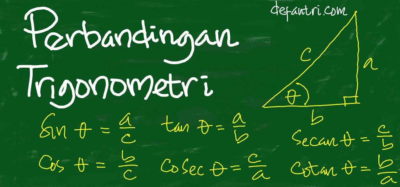 Cara Belajar Perbandingan Trigonometri Menjadi Lebih Mudah