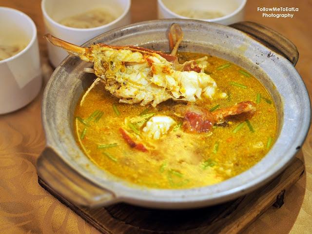 Giant Prawn Jiang Xi Vermicelli Soup 大生蝦芋頭江西米粉湯 RM 135++
