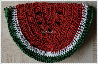 free crochet watermelon bag pattern