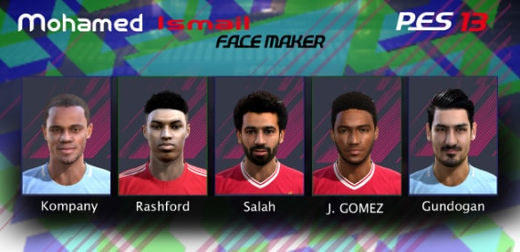 PES2013 New Big Facepack 2018/19