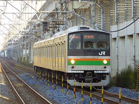 宇都宮線 小金井行き 205系600番台LED