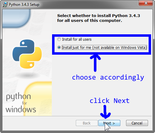 Discussion and Programming in C and Python: INSTALL PYTHON AND