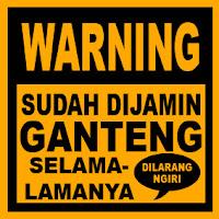 DP BBM Lucu WARNING