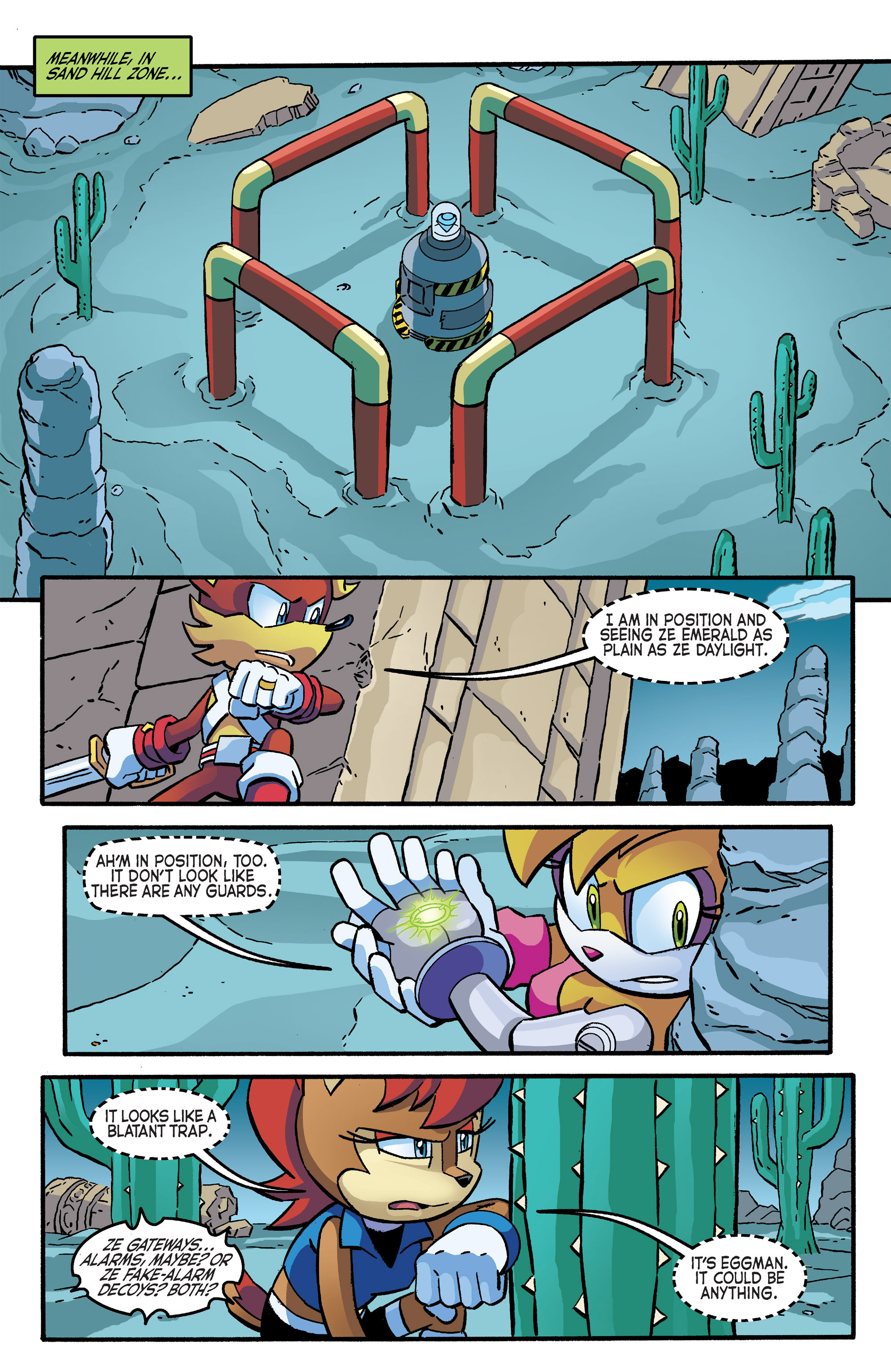 Read online Sonic The Hedgehog comic -  Issue #266 - 19
