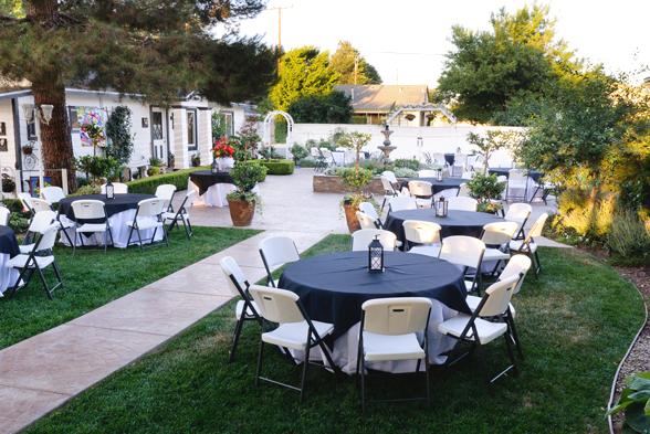 Jennifer's Terrace Wedding Venue