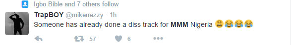 Twitter reacts to MMM Nigeria crash