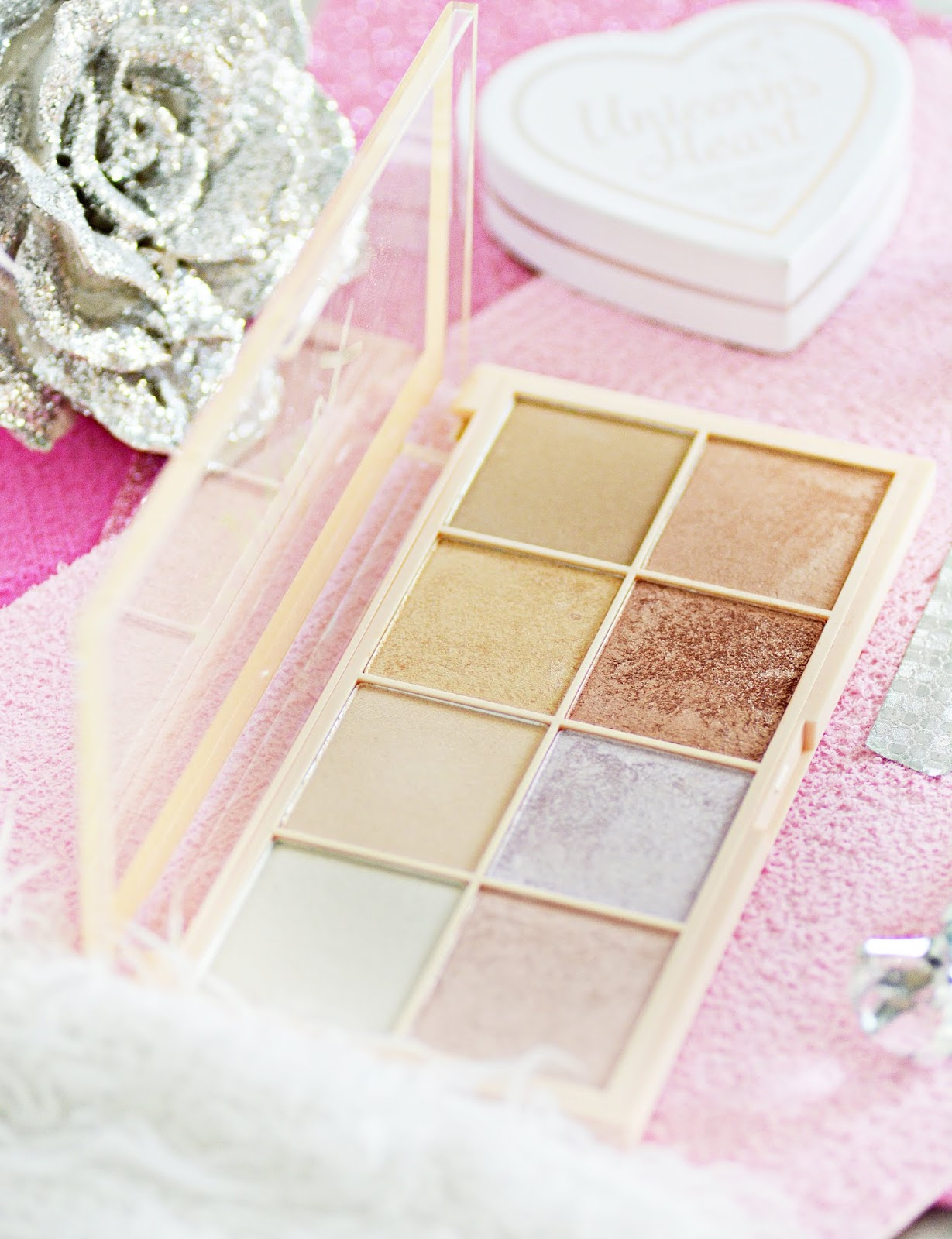 makijażowe nowości makeup revolution, paleta sophx