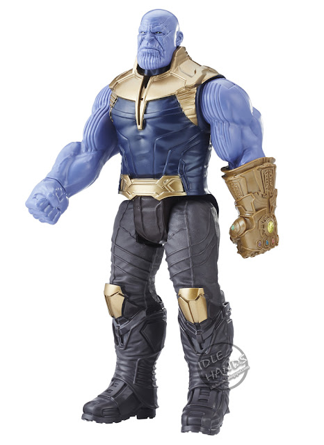Toy Fair 2018 Hasbro Marvel Avengers Infinity War Power FX Titan Figure