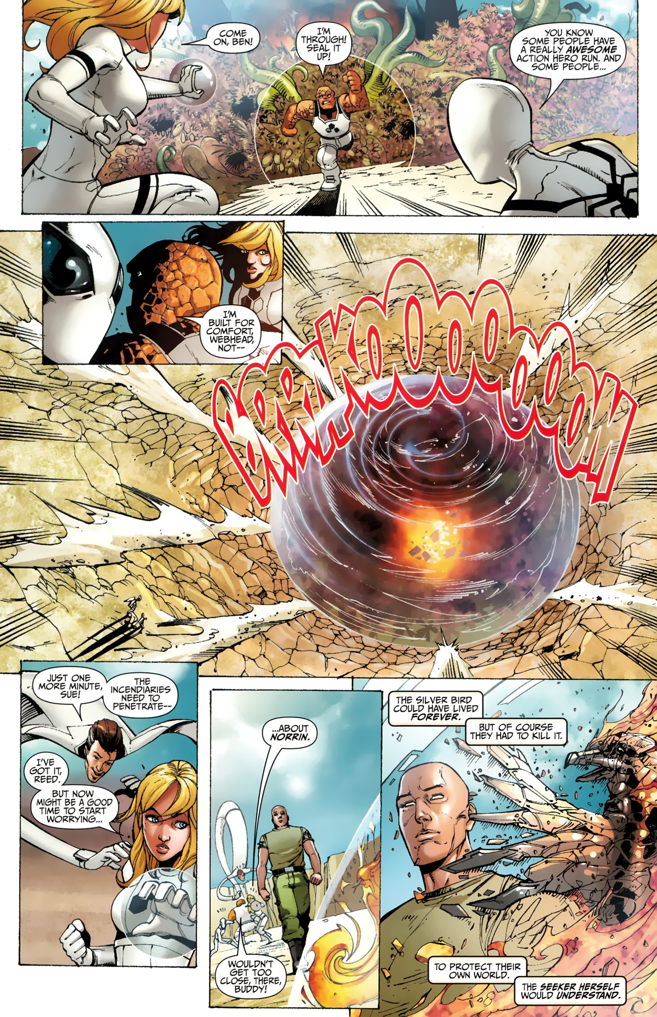 Read online Silver Surfer (2011) comic -  Issue #4 - 11