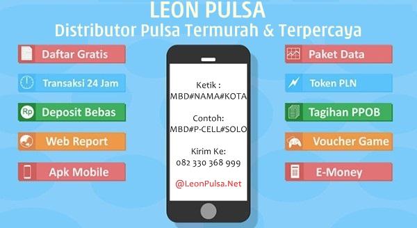LeonPulsa.net adalah Web Resmi Server Leon Pulsa CV Jasa Payment Solution