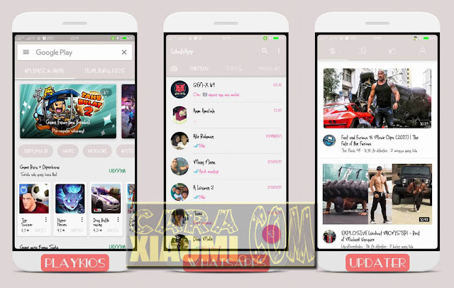 Link Download Themes MIUI Life is Flat Final Mtz For Xiaomi Fix Bug