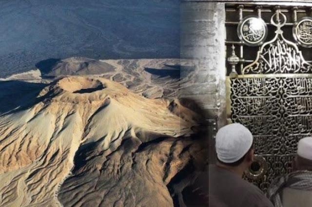 Menguak Fakta Gunung Berapi yang Mengelilingi Makam Rasulullah SAW!