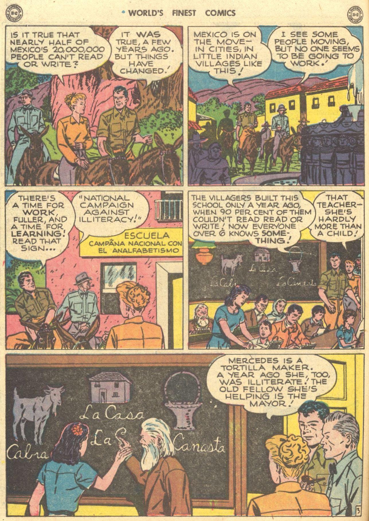 Read online World's Finest Comics comic -  Issue #28 - 53