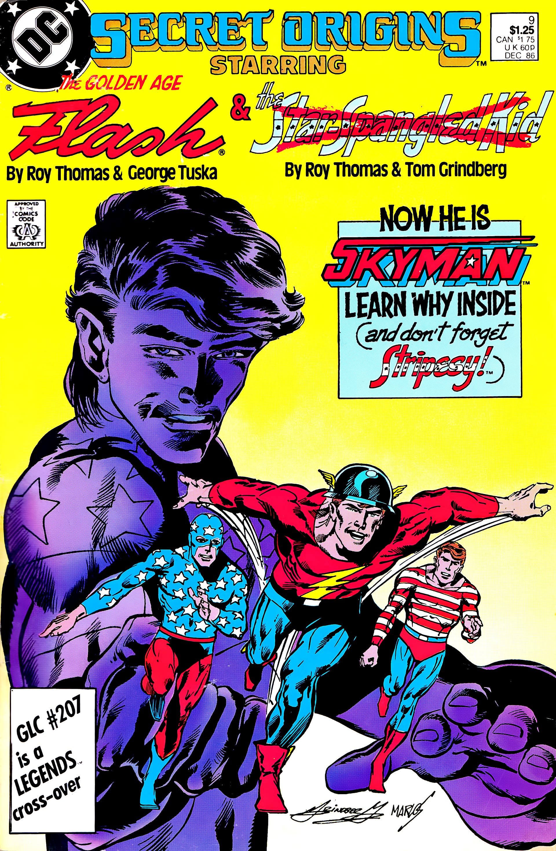 Read online Secret Origins (1986) comic -  Issue #9 - 1