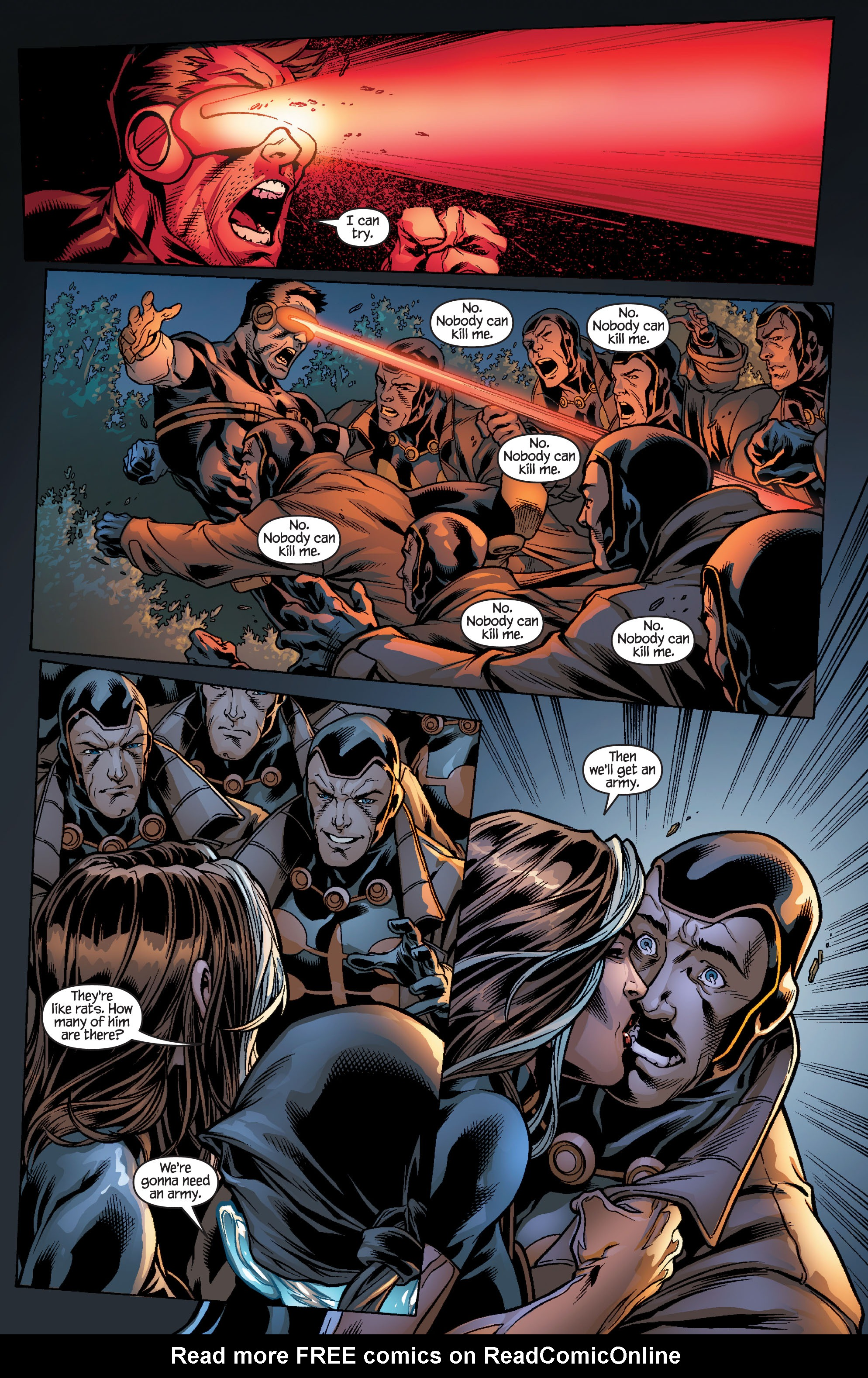 Read online Ultimate X-Men comic -  Issue #100 - 10